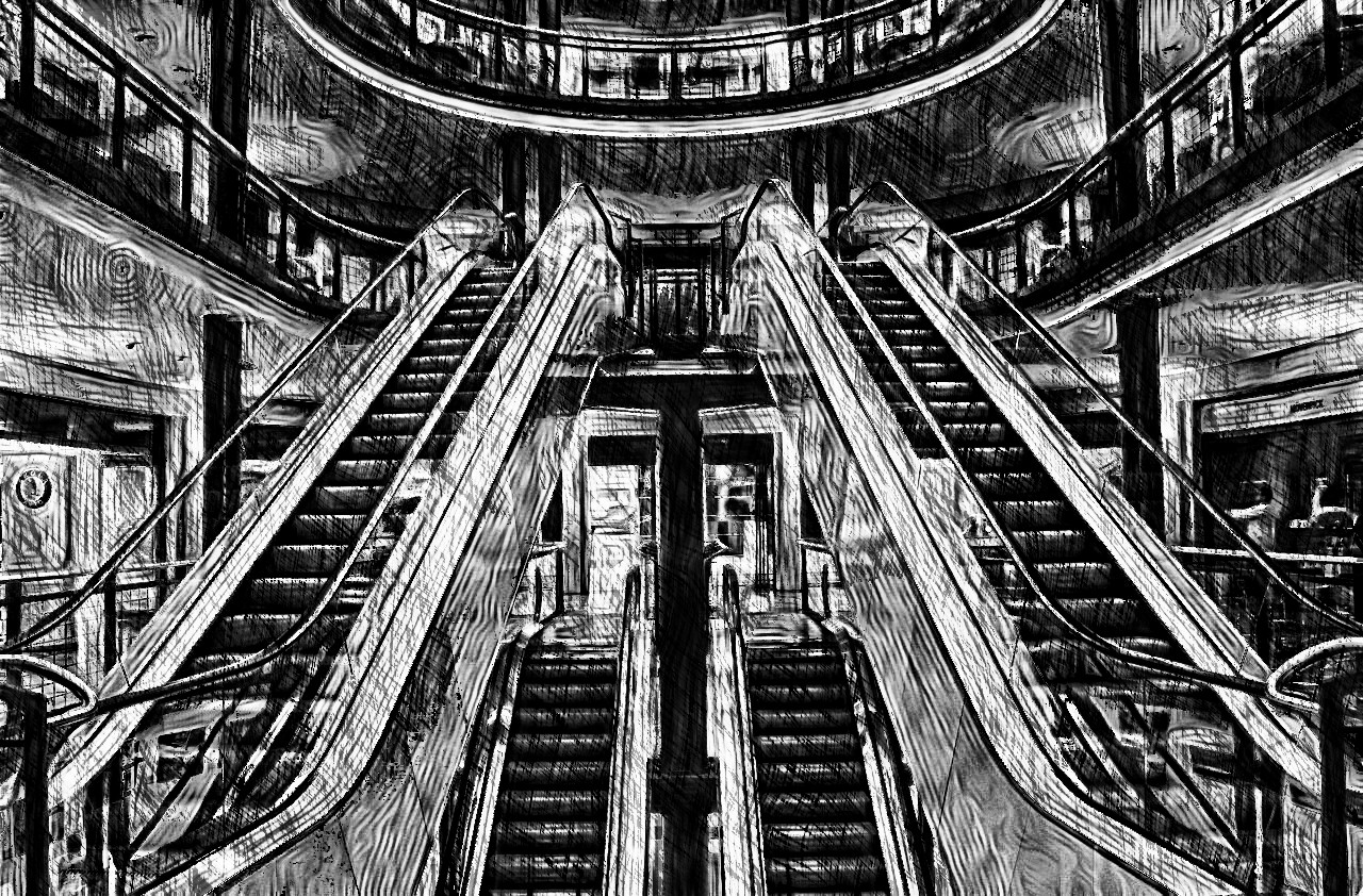 escalator-283448_1280-CrazyHedcutDrawing-intensity4-grayscale-source top-duplicate&merge.jpg