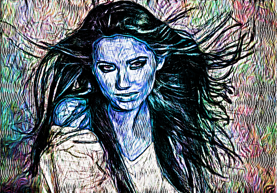 Pretty girl.Crazy Hedcut.Inverted Color.jpg