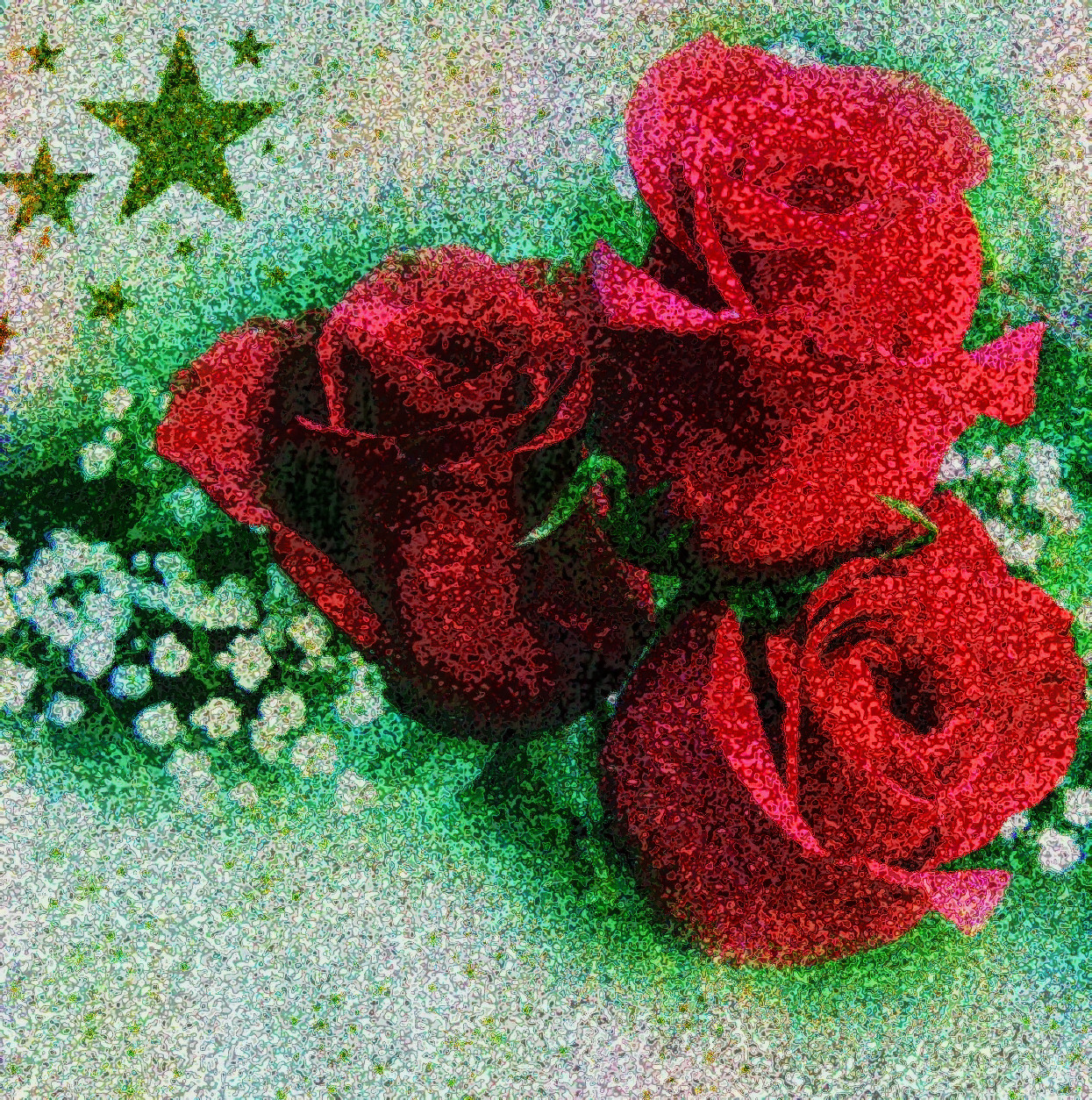 2017-07-14 17-06-11 3roses, using GI preset = Paint2, white balanced, RGB stretched, noise added.jpg