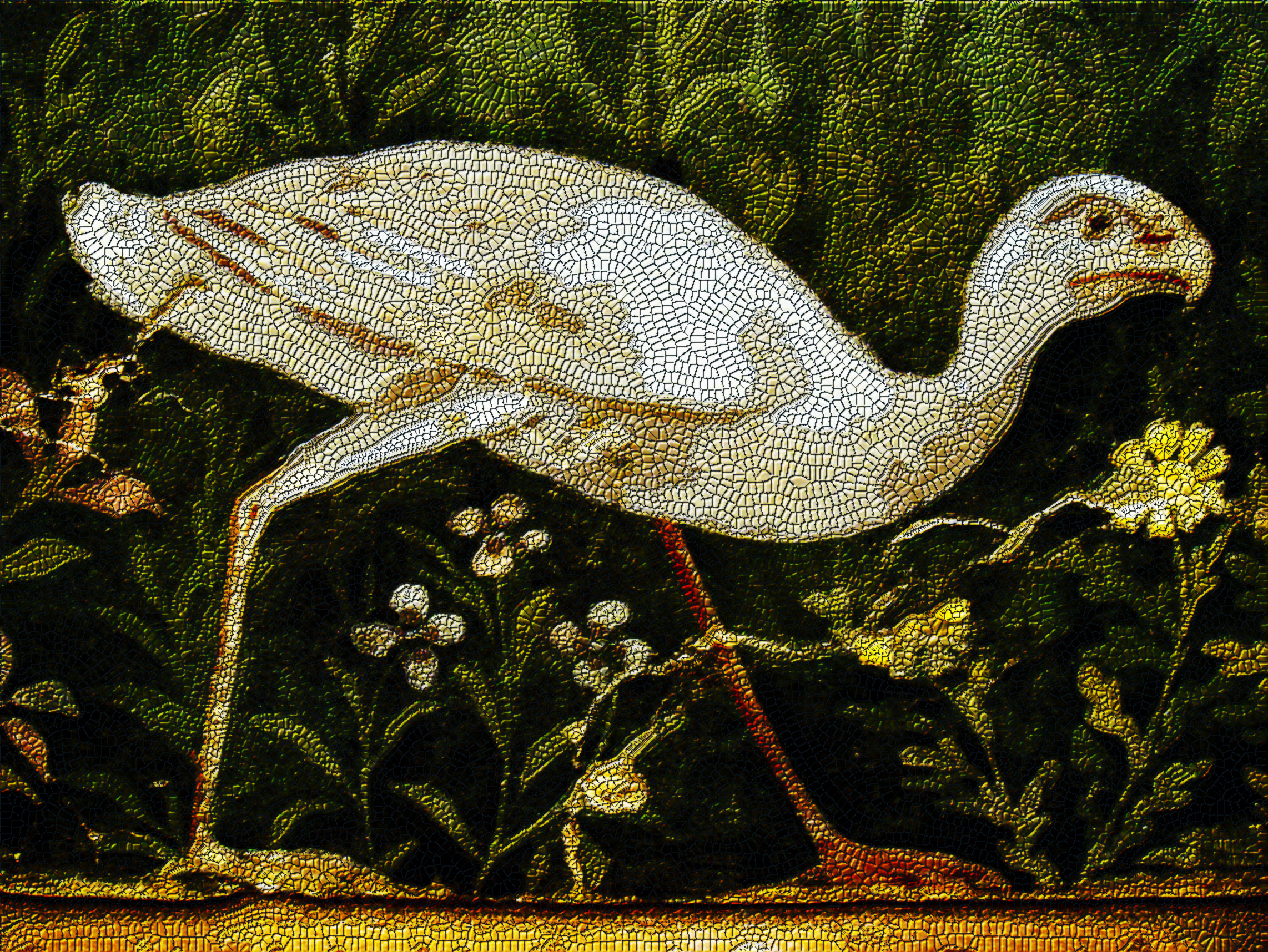 A Roman Fresco transformed into a Roman Mosaic .jpg
