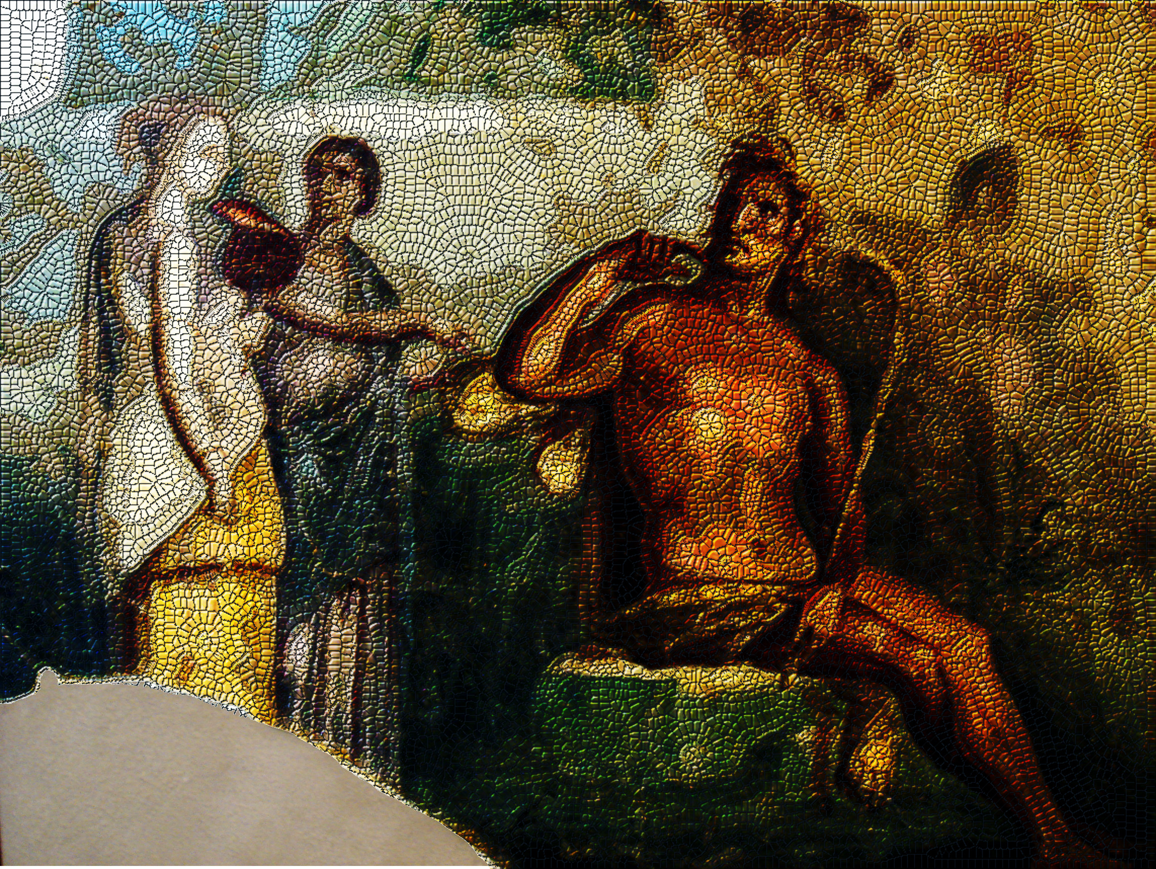 Another Roman Fresco transformed into a Roman Mosaic .jpg