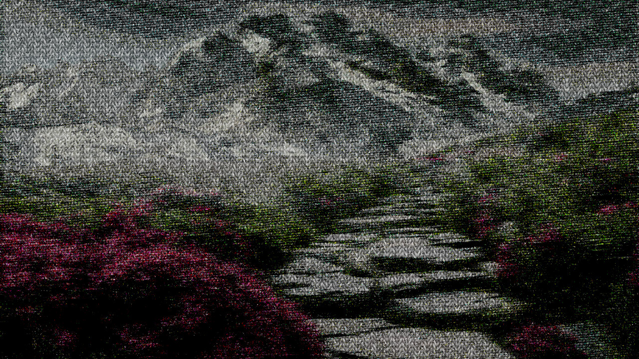 2017-10-03 15-19-22 mountain-landscape-2031539_960_720, having a knitted look, on 13 colour areas.jpg